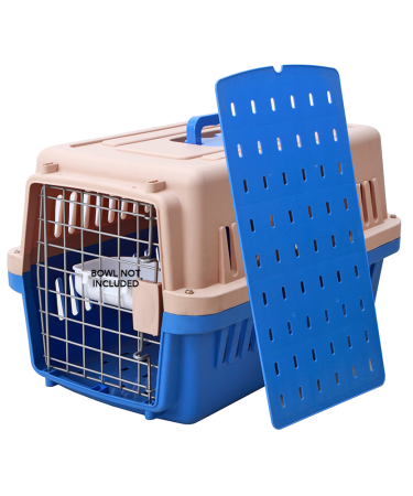 blue kennel box