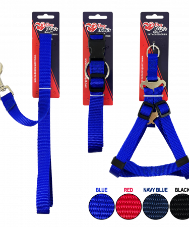 plain collar, leash, harness copy